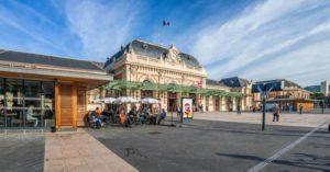 поезд в монако