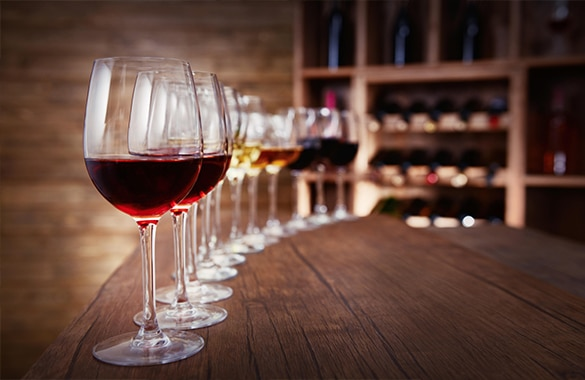 wine tasting nice