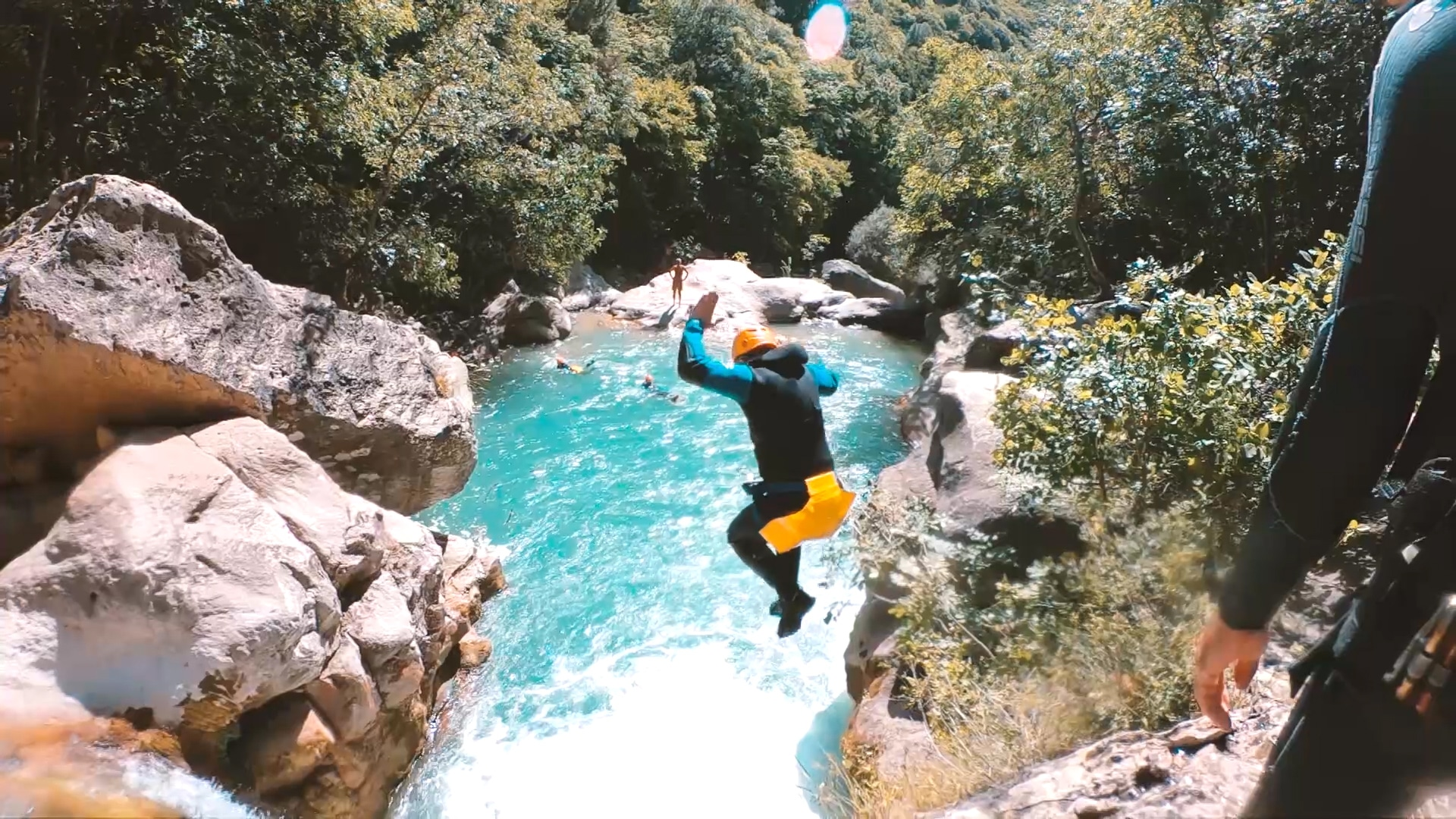 canyoning nice cote d'azur